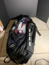 Prince 3 Compartment Tennis Bag 6-9 Rackets With Back Pack Strap