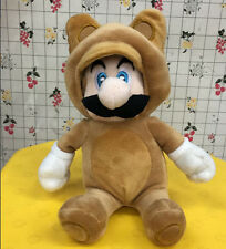 Super Mario Bros 7in Raccoon Mario Plush Tanooki Mario Soft Doll Kids Baby Toy