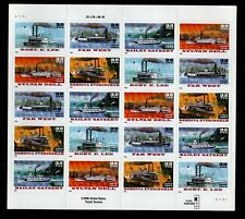 ALLY'S STAMPS US Plate Block Scott #3091-5 32c Riverboats 20 MNH [FP-31]