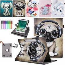 For Samsung Galaxy Tab A/A6 E 4 3 Tablet 360° Universal Leather Flip Case Cover