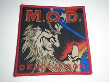 M.O.D.METHOD OF DESTRUCTION DEVOLUTION WOVEN PATCH