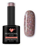 1215 VB™ Line Purple Silver Glitter - UV/LED soak off gel nail polish