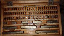 Precision Metric Gauge Block (83 pcs) class 2 Top Grade ! Endmass Satz USSR!