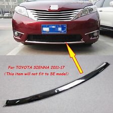 Chrome Front Lower Grille Cover Trim Fit 11-17 Toyota Sienna XLE LE L CE Limited