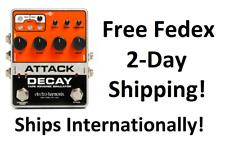 New Electro-Harmonix EHX Attack Decay Tape Reverse Simulator Guitar Pedal