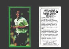 Type Cards: Trebor Bassett: WORLD STARS SERIES ( green Border ).  EX