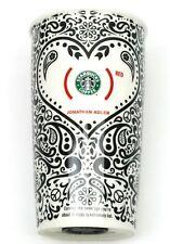 STARBUCKS Ltd Ed Jonathan Adler Product Red 12 oz Coffee Tumbler Travel Mug Cup