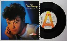 Paul Young wherever I Lay My Hat RARE UK 1983 PROMO 7in GLOSSY HC