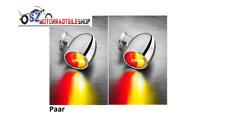 Satz Kellermann Rücklicht / Bremslicht / Blinker Bullet Atto DF Chrom 3in1 LED