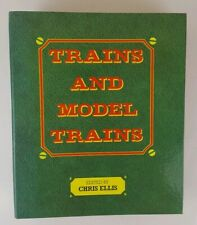 More details for trains and model trains - edited by chris ellis - including 3rd supplement jun89