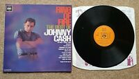 RING OF FIRE - The Best Of JOHNNY CASH - 1969 Vinyl LP / CBS ‎– 62171 / VG+/VG+