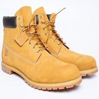 Authentic Genuine Timberland Premium Waterproof Men's Boots - 18 US Wheat Nubuck