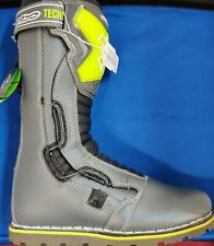 Hebo Tech Comp Trials Motorcycle Boots Grey Green