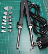 Desoldering Tweezers, 2-30mm Bits, 48W, 450 Degrees, Euro Plug, Chip Tool