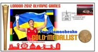 UKRAINE 2012 OLYMPIC LIGHTWEIGHT BOXING GOLD MEDAL COV