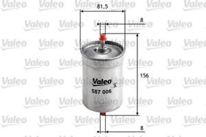 VALEO Kraftstofffilter Spritfilter Kraftstoffilter 587006