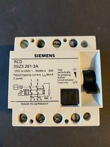 Siemens 5SZ3 261-3A 80A 30mA RCD