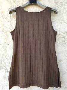 Haut EVALINKA T.38 marron - Belle qualité, forme seyante !
