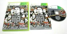 Sleeping Dogs (Microsoft Xbox 360, 2012) Complete No Scratch on the CD