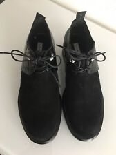 VIA SPIGA Black Leather Shoes Women Sauro Made in Italy Loafers Size 5.5