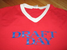 2014 DRAFT DAY in Theaters April 11 (MED) V-Neck T-Shirt Jersey KEVIN COSTNER