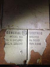General Electric 9t51y13 Transformer