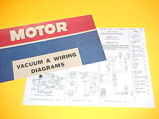 1975 1976 PLYMOUTH VALIANT SCAMP DODGE DART SPORT SWINGER VACUUM+WIRING DIAGRAMS