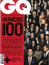 GQ N°100 JUILLET 2016  COLLECTOR # 100/ NEO-REACS/ GP MONACO/ SALAME/