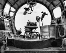 USAAF WW2 B-17 Bomber Nine-O-Nine Bombardier Station #2 8x10 Photo 91st BG