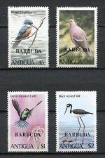 27581) BARBUDA 1980 MNH** Nuovi** Birds Uccelli 4v