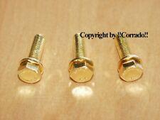 >vergoldet< Schrauben VR6 Riemenspanner Spanner Golf 3 Corrado VR 6 >gold<