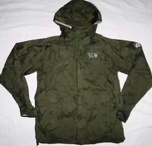 MOUNTAIN HARDWEAR Mens Size Medium Seam Sealed Light Waterproof Jacket
