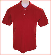 Bnwt Authentic Men's Pringle Pique Polo Shirt Small New Red