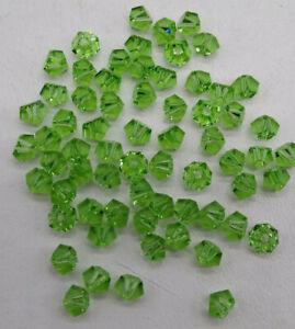 24pc Swarovski Crystal Peridot 4,5mm Simplicity 5310 Bead; Light Green; August
