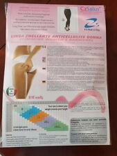 BNIP CzSalus Anti Cellulite Slimming Leggings With Micro Massage Size S RRP £53