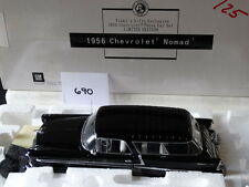 Franklin Mint 1956 Chevy Nomad Dealer Exclusive 1:24 Scale Diecast Model Car