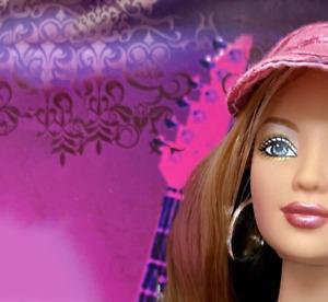 Hard Rock Barbie - 2006 Pink Label - NRFB - MINT
