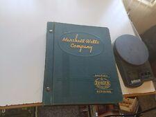 1940 Marshall Wells General Catalog