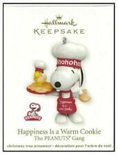 2011 Hallmark Peanuts Gang Happiness is a Warm Cookie Ornament Snoopy Woodstock!