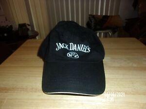 JACK DANIEL'S OLD NO. 7 ADJUSTABLE BLACK HAT WHITE LETTERS