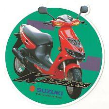 Suzuki AY50 AY50W Katana Sticker Decal 1997