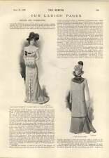 1899 Paris Diamond Company Col Broche Chaîne Violet Vanbrugh Academy Robe