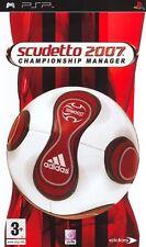 Scudetto 2007 Championship Manager (Calcio) SONY PSP IT IMPORT EIDOS INTERACTIVE
