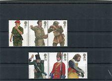 Gran Bretagna/Great Britain 2007 uniformi militari britanniche MNH