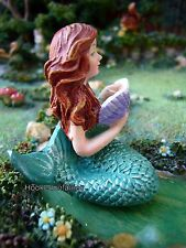 Miniature Mermaid Reading GO 17510 Fairy Garden Dollhouse Terrarium