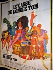 LE CASSE DE L' ONCLE TOM ! blaxploitation affiche cinema 1971