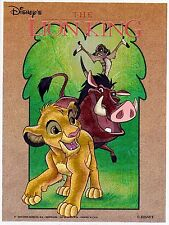 Alubild Alu-Bild : König der Löwen - Lion King Disney Simba Pumbaa Timon 1806