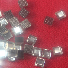 70 Strass thermocollant carré 4x4 mm (hotfix) cristal A+ qualité Bling