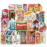 38Pcs Funny Skateboard Stickers bomb Laptop Luggage Decals Dope Graffiti Sticker