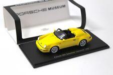 1:43 Spark Porsche 964 Speedster Turbolook 1993 yellow bei PREMIUM-MODELCARS